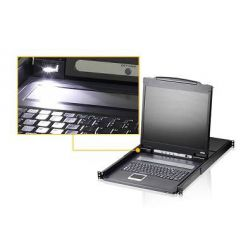 "ATEN KVM switch CL-1316N 8PC KVM 19""LCD 1U"