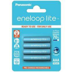 Panasonic eneloop lite, AAA, Ni-Mh, 4ks, 550mAh, 3000 cyklů