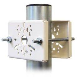 Držák kamer na stožár DKS105 - komaxitovaný bílý