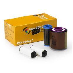 Páska Zebra ZXP7, monochromatická barvící páska pro potisk plastových karet, černá
