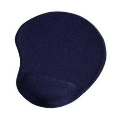 HAMA ergonomická gelová podložka pod myš, modrá