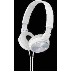 SONY MDR-ZX310, sluchátka, bílá