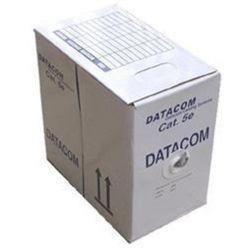 DATACOM  UTP flex,Cat5e PVC,šedý,100m,lanko