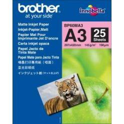 Brother BP60MA3, 25 listů A3, Foto Matt, 190g
