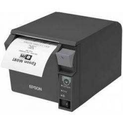 Epson TM-T70II, pokladní termotiskárna, černá, COM, USB, včetně zdroje