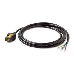 APC Power Cord, Locking C19 to Rewireable, 3.0m