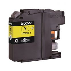 Brother LC-525XLY, inkoustová cartridge, žlutá, 1300 stran