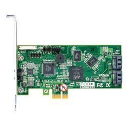 ARECA 2port 6Gb/s SATA PCIe 2.0 x1, RAID Card, 512MB Cache, 2x interní SATA