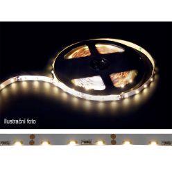 LED pásek 335 (boční)  60LED/m IP65 4.8W/m TEPLÁ, cena za 5m zalitý