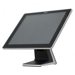 "Dotykový monitor FEC AM-1017, 17"" LED LCD (250cd), PCAP, USB, VGA/DVI, bez rámečku, černo-stříbrný"