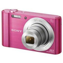 """SONY DSC-W810P 20,1 MP, 6x zoom, 2,7 """" LCD - PINK"""
