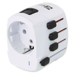 Emos World Adapter PRO, zásuvkový cestovní adaptér