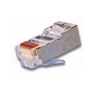 Konektor RJ45 stíněný STP CAT5, drát, 1ks