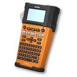 Tiskárna samolepících štítků Brother PT-E300VP max. šířka 18mm, TZE páska, Li-ion, 6xAA, adaptér, ruční, s kufrem