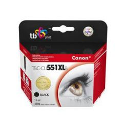 TB náhrada za Canon CLI-551XL, černá, 15ml