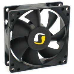 SilentiumPC Mistral 80, ventilátor 80x25mm, 1800rpm, 21dBA, 3-pin