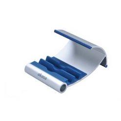 AKASA AK-NC054-BL, hliníkový stojánek na tablet, stříbrno-modrý