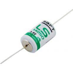 Saft LS14250, lithiová baterie, 1/2AA, 1200mAh, 1ks, bulk - s drátovými vývody