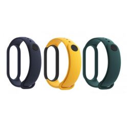 Xiaomi Mi Band 5 Strap (Blue, Yellow, Green)