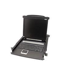 Výsuvná konzole 19'', LCD 17'', 1U, PS2+USB, černá, UK (CL1000M)