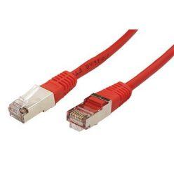 FTP patchkabel kat. 5e, 2m, červený