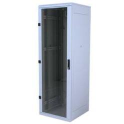 """Triton 19"""" rozvaděč stojanový 32U/800x900, skleněné dveře"""