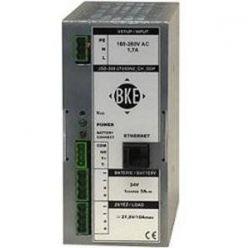 Napájecí zdroj/nabíječ BKE JSD-300-545/DIN2_CH_ODP na DIN lištu s dohledem 54,5 V, 300 W, 5 A, LAN port
