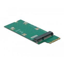 Delock Adaptér M.2 Key B+M na slot Mini PCIe (PCIe / USB)
