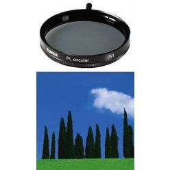 Hama filtr polarizační cirkulární 49 mm, černý