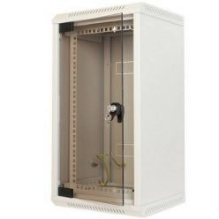 """Triton 10"""" - 10U nebo 19""""-5U, rozvaděč jednodílný, 360mm celoskleněné dveře"""