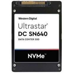 "WDC Ultrastar SN640 1,92TB NVMe U.2 (2,5""/7mm), PCI-E4, 472/63kIOPS, 0,8DWPD, ISE"