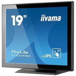 """Dotykový monitor IIYAMA ProLite T1932MSC-B5AG, 19"""" IPS LED, PCAP, 14ms, 215cd/m2, USB, VGA/HDMI/DP, matný, ZB, černý"""