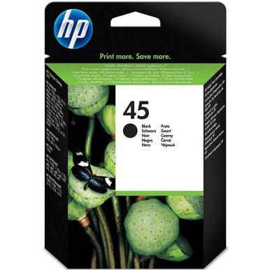 HP 45, černá inkoustová cartridge, 42ml, 51645AE