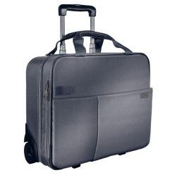 Kufr na kolečkách Leitz Complete, stříbrný