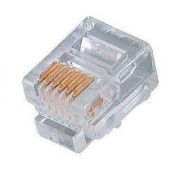 Konektor telefonní RJ-12 6p6c, 1ks