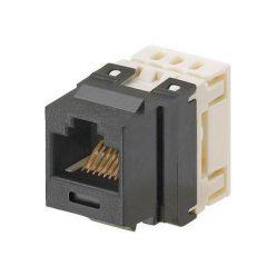 Keystone konektor kat.6, bílý, nestíněný, NetKey