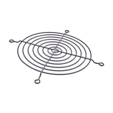Mřížka na ventilátor 80x80 černá