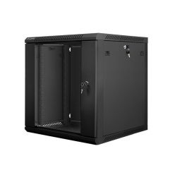 Nástěnný rack 19' 12U 600X600mm černý