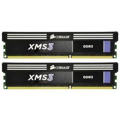 Corsair XMS3 2x4GB DDR3 1600MHz, CL9 (9-9-9-27), chladič, XMP