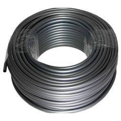 """TFC Feser Tube - Silver/Blue UV - 1m (ID 3/8"""" - OD 1/2"""" - WT 1/16"""")"""