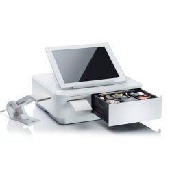 Základna Star Micronics mPOP tiskárna 58mm, zásuvka, skener, světlá