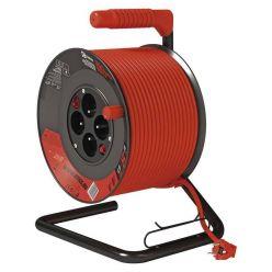 Emos prodlužovací buben - 4 zásuvky, 50m, 1.5mm, PVC, IP20