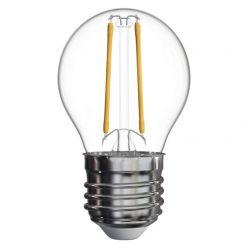 Emos LED žárovka MINI GLOBE, 2W/25W E27, NW neutrální bílá, 250 lm, Filament A++