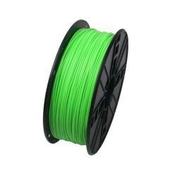 GEMBIRD 3D PLA plastové vlákno pro tiskárny, průměr 1,75mm, 1kg, zelená