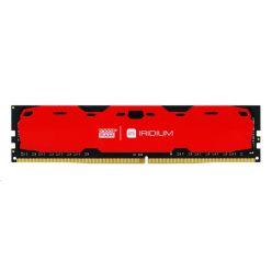 GoodRAM IRDM 8GB DDR4 2400MHz CL15 DIMM, červený