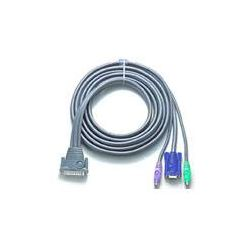ATEN integrovaný kabel pro KVM PS/2 1.8 M pro CS128A