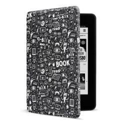 CONNECT IT Doodle pouzdro pro Amazon Kindle Paperwhite 4 (2018), černé