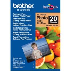 Brother BP71GP20, 20 listů, 10x15cm Premium Glossy, 260g