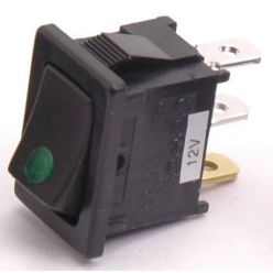PRIMECOOLER LED Rocker Switch Square Green