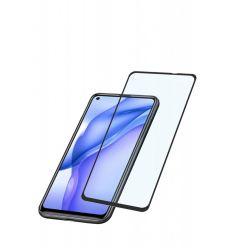 Ochranné tvrzené sklo pro celý displej Cellularline Capsule pro Huawei Mate 40 Lite, černé
